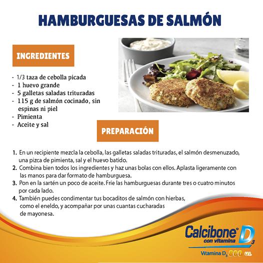 Hamburguesas de Salmón-Calcibone