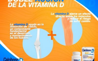 Doble acción de la vitamina D