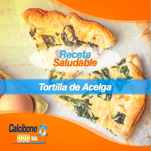 Tortilla de Acelga - Calcibone