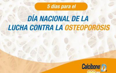 Este 28 de Febrero es el DÍA Nacional de la Lucha contra la Osteoporosis