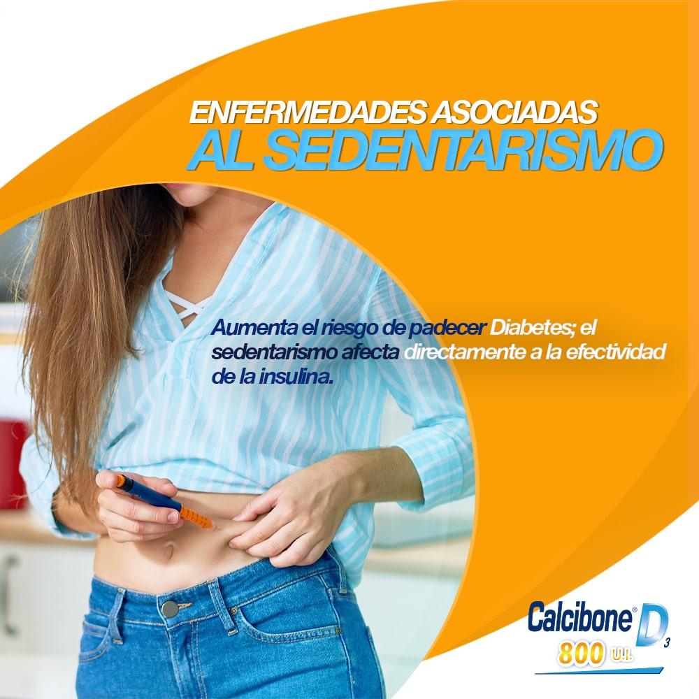 Enfermedades asociadas al sedentarismo - Calcibone D