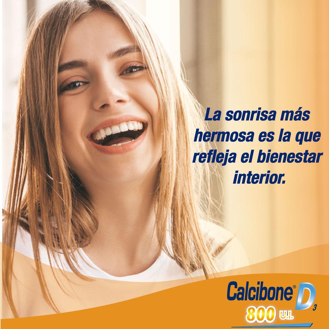 La sonrisa más hermosa es la que refleja el bienestar interior - Calcibone D