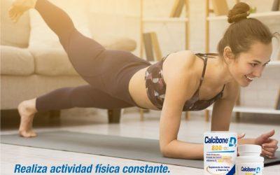 Es saludable que te mantengas activa y te ejercites en casa.