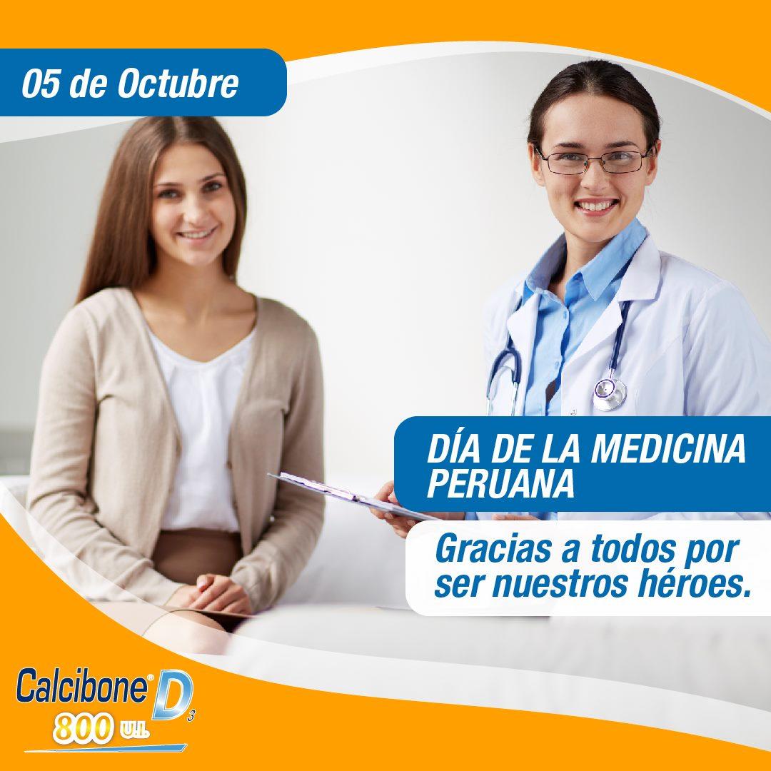 Hoy 5 de octubre celebramos el Día de la Medicina Peruana.
